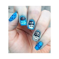 VJC Nails The Fault in Our Stars ❤ liked on Polyvore featuring beauty products, nail care, nail treatments, nails, tfios, unhas, accessories and beauty
