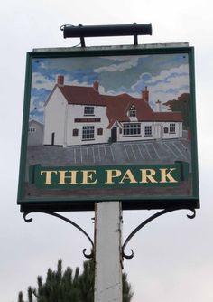 The Park pub sign