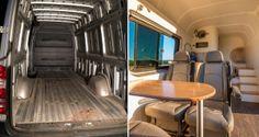 Un couple transforme leur camionnette en maison roulante, le résultat final va vous donner envie de voyager !