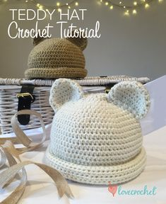 Crochet Club: free teddy bear crochet tutorial by Kate Eastwood on LoveCrochet