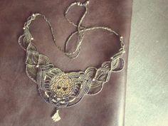 handgeknüpfte Halskette mit dem Baum des Lebens in Messing von CincoElementos auf Etsy
