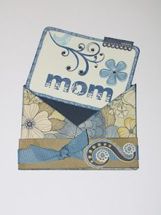 I absolutely LOVE criss-cross cards!  I think they are so creative!