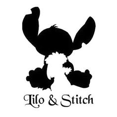 Vinyl Decal Truck Car Sticker Laptop - Disney Lilo & Stitch Get beautiful and funny laptop stickers ideas and all different kinds here. Silhouettes Disney, Disney Silhouette Art, Silhouette Vinyl, Lilo And Stitch Shirt, Lilo Y Stitch, Car Stickers, Laptop Stickers, Disney Diy, Disney Wallpaper