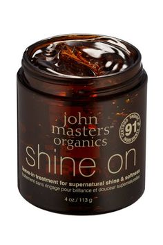 GREEN STARS 2013: OUR ANNUAL AWARDS FOR THE BEST ECO-FRIENDLY BEAUTY PRODUCTS ON THE MARKET | SOS (SAVE OUR SKIN!) - Our pros restore damaged hair with John Masters Organics Shine On Leave-In Treatment.