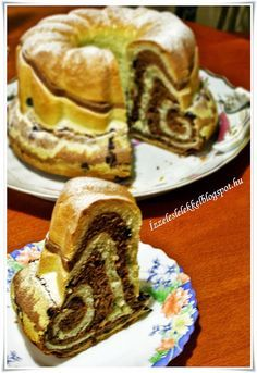 ÍZZEL ÉS LÉLEKKEL: HOKKAIDO KUGLÓF Hungarian Cake, Hungarian Recipes, Bunt Cakes, Sweet Bread, Sweet Recipes, Food To Make, Sweet Tooth, Food And Drink, Cooking Recipes