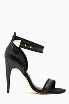 Primal Pump in Black. #ShoeCult by #NastyGal