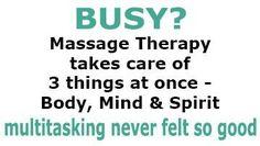 ♥ Massage