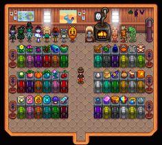 Stardew Farms, Stardew Valley Farms, Stardew Valley Layout, Stardew Valley Tips, Farm Layout, Video Games, Animal Crossing, Fandom, Internet