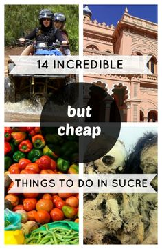 14 Incredible (But Cheap) Things to Do in Sucre, Bolivia  http://www.sucrelife.com/14-incredible-but-cheap-things-to-do-in-sucre/