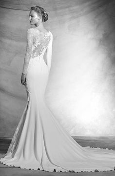 Elegant Pronovias Wedding Dresses