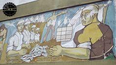 Italo Grassi. Ubicación: Vértiz esquina Bermejo - Barrio Puerto #ArteCallejero #MadeInMDQ #MardelPlata #MDQ #StreetArt #Italo #Grassi #Puerto