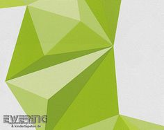 8-95654-1 Lars Contzen 4 956541 hell-grün Origami Vliestapete