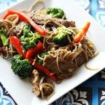 Beef & Broccoli Orange Stir Fry Over Soba Noodles | Culinary Covers