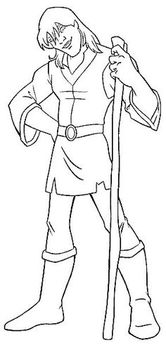 Excaliber coloring pages
