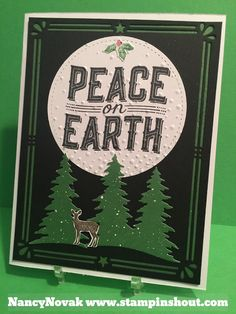 STAMPINSHOUT nancyannnovak@gmail.com: CAROLS OF CHRISTMAS - Peace on Earth