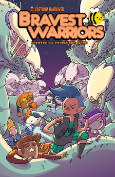BRAVEST WARRIORS #27 Retail Price: $3.99 Author: Kate Leth Artist: Ian McGinty Cover Artists:  A: Ian McGinty 50% B: Renee Britton 50% C: Steven Wells - INCENTIVE Defending a planet from giant monsters might be more than the Bravest Warriors can handle, even with Catbug and Impossibear on their side. The team will need the help of an all-new ally and even newer tech to bring the beasts down in one of their most action-packed adventures yet.