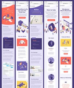 Kehittamo mobile screens / Oli Lisher