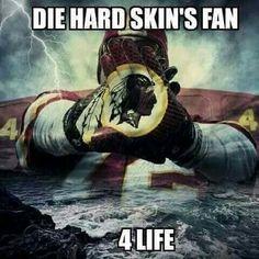 Die Hard Skins Fan 4 Life