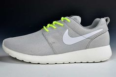 on sale dc42b 03d50 UK Trainers Roshe One Nike Roshe Run Mesh Junior Mens Silver White Draw  Black Firday