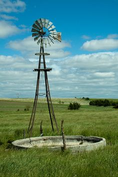 Windmill on the Prairie | Flickr - Photo Sharing!