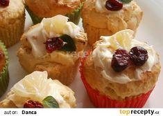 Vláčné a voňavé mufiny s nakládaným citronem. recept - TopRecepty.cz Cupcakes, Breakfast, Food, Lemon, Morning Coffee, Meal, Cupcake, Essen, Hoods