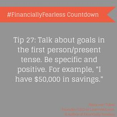 Take control! We're following LearnVest as they count down the days until #FinanciallyFearless debuts!