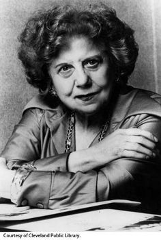 DOROTHY FULDHEIM - News Analyst (She was a presence in Cleveland News on Channel 5 from 1947-1984)  She got her first job in television at the age of 54 signing a 13-week contract for a 15 minute news analyst.  Her contract was renewed and she was never off the air until she retired 47 years later at the age of 91.  Let's see Katie Couric match that!  (clevelandartsprize.org)