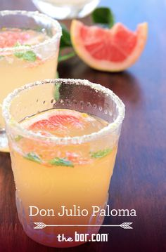 A Light Toast: Don Julio Paloma from thebar.com.  This Don Julio® Paloma is a yummy, low calorie cocktail! Mix it up with 1.5 oz. Don Julio® Blanco Tequila, 3 oz. light ruby red grapefruit juice, 3 oz. soda water.
