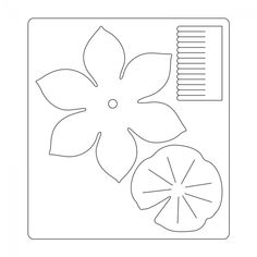 Sizzix Bigz Die - Lotus Hanging Paper Flowers, Felt Flowers, Silhouette Cameo, Flower Template, Arte Floral, Crafts For Teens, Teen Crafts, Summer Crafts, Flower Making