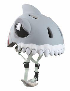 Fahrradhelm für Kinder von Crazy Safety Kinderhelm WHITE SHARK Größe S