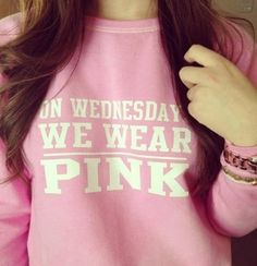 Mean Girls The Movie Fashion Rules pink lindsay lohan clothes