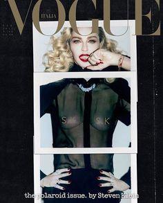Madonna for Vogue Italia February 2017