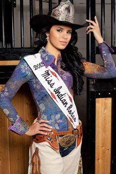 Miss Indian Rodeo 2013, Sonyah Clifford, Oglala