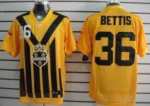Ben Roethlisberger Nike Pittsburgh Steelers yellow s throwback elite jersey 12f8a628c