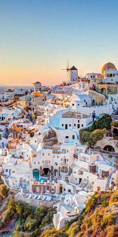 Amazing view of Santorini, Greece