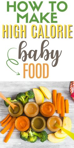 Here are some tips to make high calorie baby food. Use these recipes to make food for baby weight gain. These easy baby food recipes are perfect for busy first time moms! High Calorie Baby Food, New Moms, Baby Food Recipes, Weight Gain, Breastfeeding, Food To Make, Vegetables, Easy, Tips