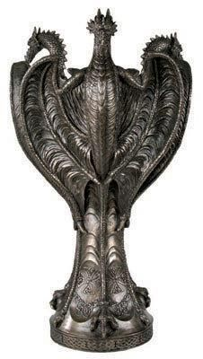 Celtic Dragon Vase