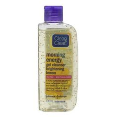 CleanandClear Morning Energy Gel Cleanser Brightening Lemon 100ml. Best Seller of Thailand [Wazashop] *** Click on the image for additional details. (This is an Amazon affiliate link)