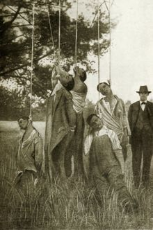 Lynching of six African Americans in Lee County Georgia January 20, 1916