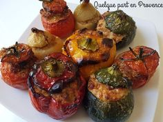 quelque part en Provence Provence, Tandoori Chicken, Muffin, Pork, Meat, Vegetables, Breakfast, Ethnic Recipes, Blog