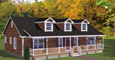 Country Ranch House Plan 40664