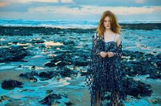 Siren song: from our March issue  @madi_stubbington wearing @giorgioarmaniofficial (by @erikmadiganheck at Botany Bay in Kent and styled by @leithclark) Thanks to @justinepicardie @avrilmair @pollyosmond @laurentphilippon @meganmccluskiecasting #BazaarLoves #Fashion #Bazaar150 #MarchIssue #FashionIssue  via HARPER'S BAZAAR UK MAGAZINE OFFICIAL INSTAGRAM - Fashion Campaigns  Haute Couture  Advertising  Editorial Photography  Magazine Cover Designs  Supermodels  Runway Models
