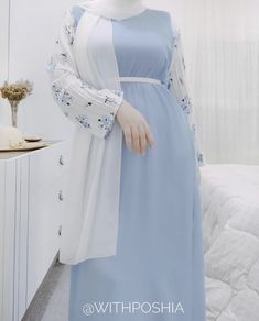Hijab Style Dress, Modest Fashion Hijab, Casual Hijab Outfit, Fashion Dresses, Hijab Mode, Mode Abaya, Muslim Women Fashion, Hijab Fashion Inspiration, Designs For Dresses