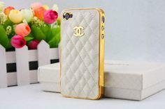 """Chanel Apple iPhone cellular phone hard case"" .... Gorgeous!"