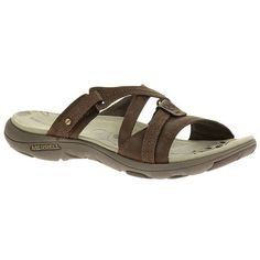 f78e867c5278 Slip into these Merrell Sway sandals and be swept away by the comfort and  functionality.