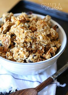 Snacking Granola Clusters ~ PERFECT granola for snacking! There are a few tricks you NEED to know!