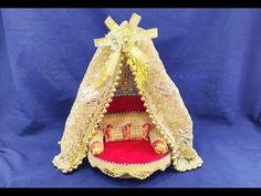 Art N Craft, Craft Stick Crafts, Fun Crafts, Arts And Crafts, Janmashtami Decoration, Bangle Box, Miniature Crafts, Miniature Tutorials, Doll Museum