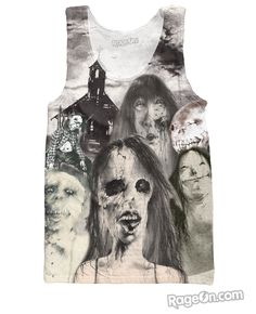 Scary Stories to Tell in the Dark Tank Top – RageOn! - The World's Largest All-Over-Print Online Store