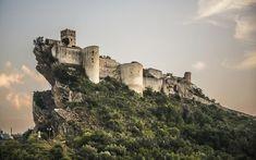 Il Castello di Roccascalegna si trova in Abruzzo (provincia di Chieti)
