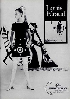 Louis Féraud L'Officiel magazine of 1969 displaying mod fashion. 70s Women Fashion, 60s And 70s Fashion, Petite Fashion, Fashion History, Retro Fashion, Vintage Fashion, Fashion Tips, Women's Fashion, French Fashion